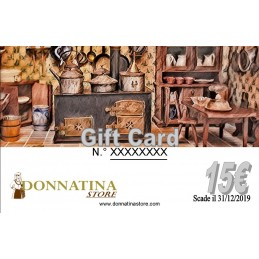 Gift Card Donna Tina 15€