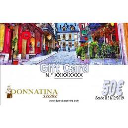Gift Card Donna Tina 50€