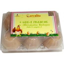 Uova fresche 6pz - Carmelita